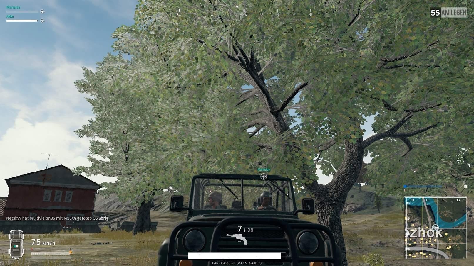 PlayerUnknown's Battlegrounds Tipps UAV Auto Fahrzeug
