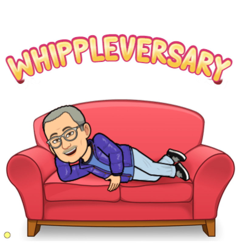 Being Thankful for Whippleversary Six