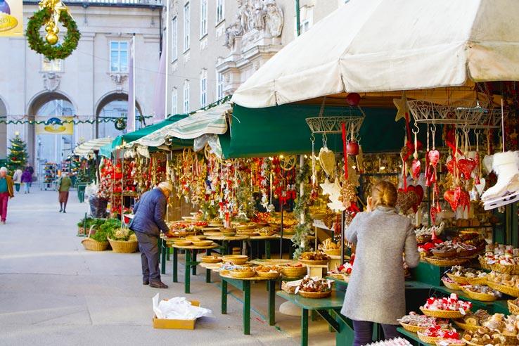 Salzburg Christmas Market Christmas Cards