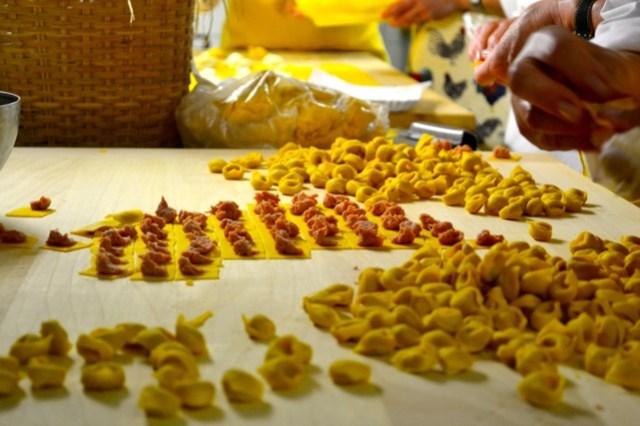 Tortellini from Le Sfogline