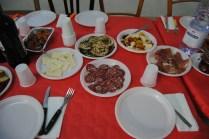 Salami, Pecorino Cheese, Grilled Eggplant, Pickled Vegetables, Ham