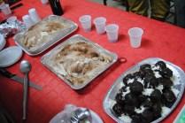 Dessert! Tiramisu And Chocolate Puffs With Cream