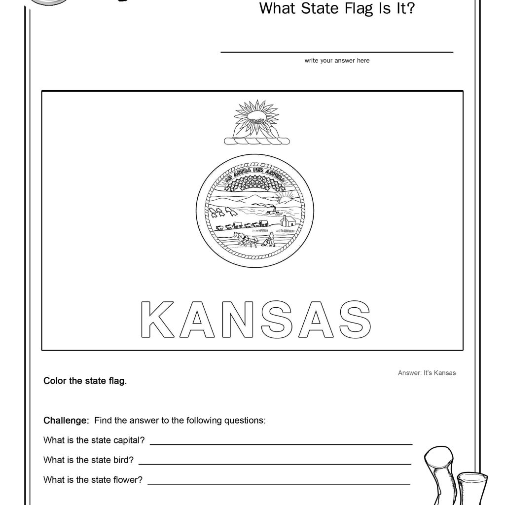 States Worksheet Free