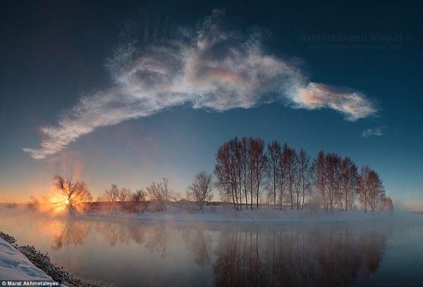 Chelyabinsk meteor struck by Russian missle