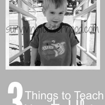 Three Fun Things to Teach Your Toddler