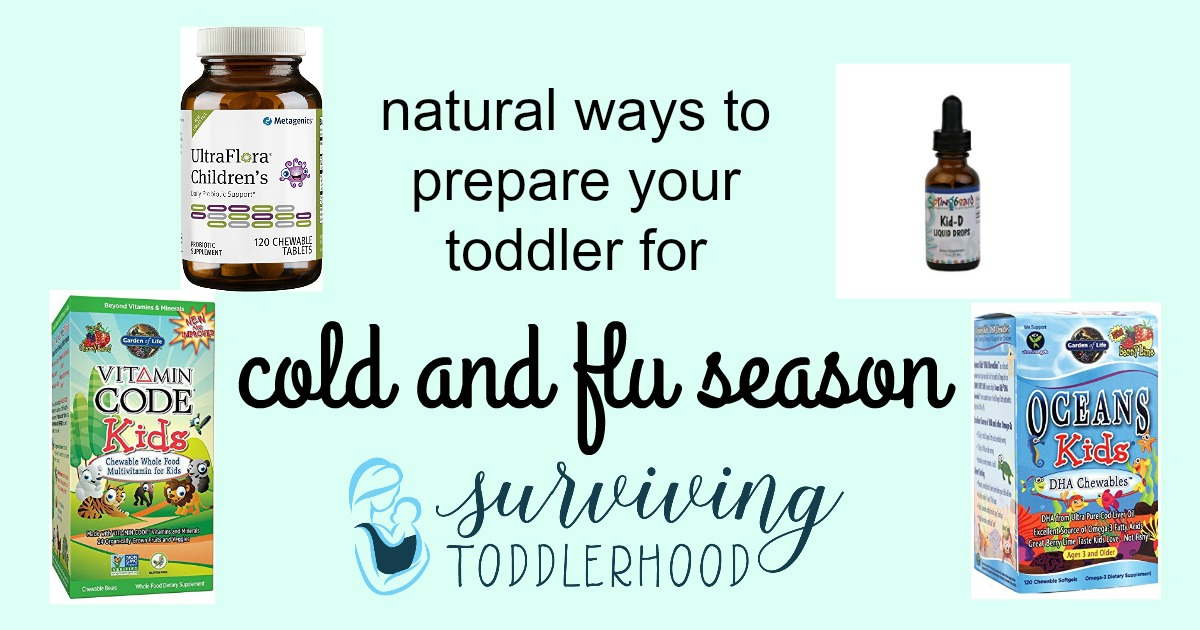 natural ways to prepare your child for cold and flu season