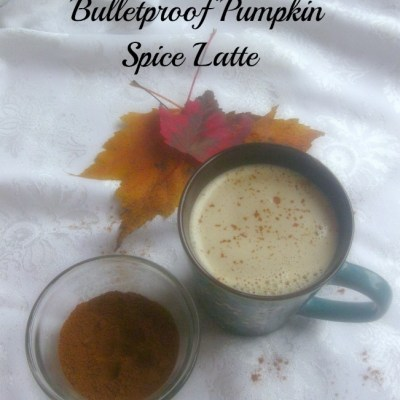 Dairy-free Bulletproof Pumpkin Spice Latte