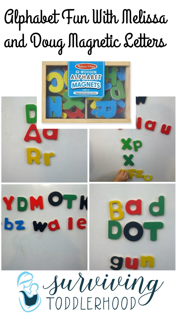 Add some alphabet fun to your tot school or preschool day with magnetic letters. These games are perfect for your homeschool student, different ideas for preschool through kindergarten aged students.