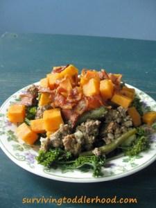 Trim Healthy Mama Deconstructed Shepherds Pie {Grain Free, Gluten Free, Dairy Free, Nut Free}