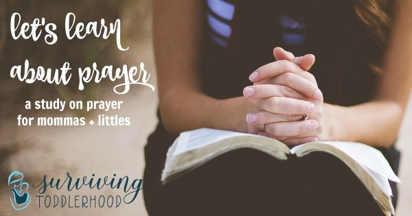 Teach Children about Prayer