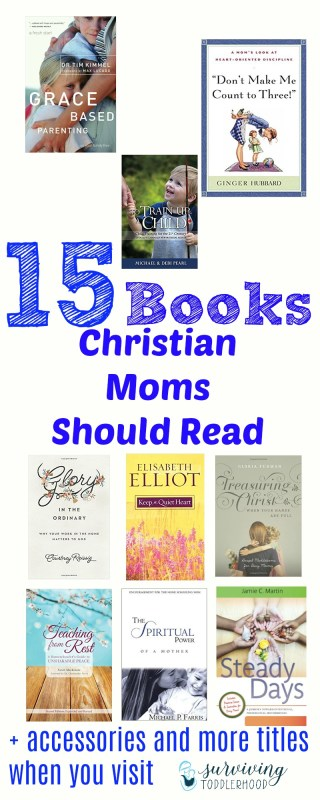 15 Books Christian Mommas Should Read Motherhood | Christian Motherhood | Mom Life | Reading List | Book Gift Guide | Gift Guide for Moms | Christmas Gift Guide | Christian Mom Gift Guide | Mothering