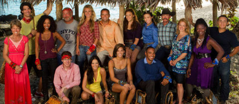 Survivor South Pacific cast