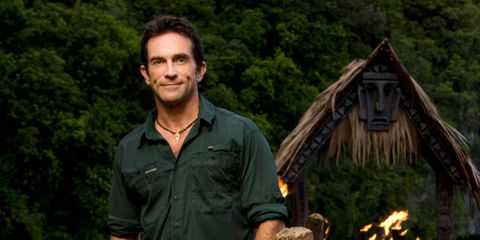 Jeff Probst on Survivor