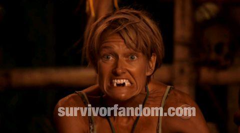 Survivor 2013 Caramoan - Dawn's teeth