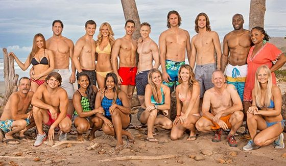 Survivor 2014 cast - Blood Vs Water on San Juan del Sur