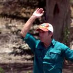 Jeff Probst hosts the Survivor challenge