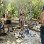 Survivor Worlds Apart Blue Collar camp
