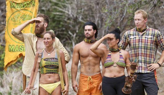 White Collar tribe on Survivor 2015 Worlds Apart