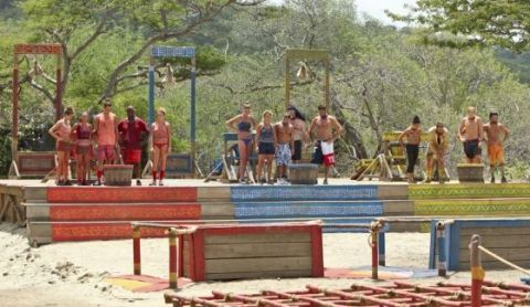 Survivor 2015 Immunity Challenge - Week 3