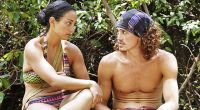 Shirin Oskooi & Joe Anglim plot on Survivor 2015