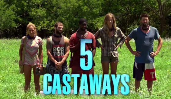 5 Castaways remain on Survivor 2015