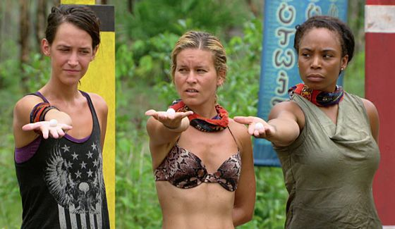 Castaways give up immunity for shelter on Survivor