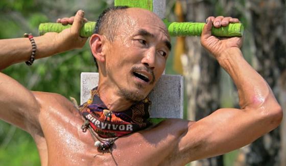 Tai Trang competes on Survivor Kaoh Rong