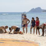 Survivor 2017 Castaways at challenge - 06
