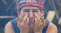 Aubry Bracco tears up on Survivor 2017