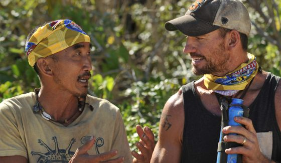 Survivor Game Changers Tai and Brad