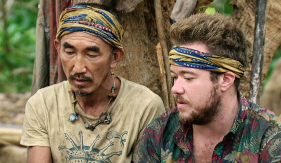 Tai and Zeke on Survivor 2017 Game Changers
