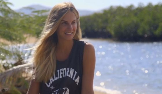 Sierra Dawn Thomas on Survivor 2017 Ponderosa