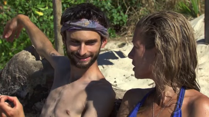 Ryan and Chrissy on Survivor 2017