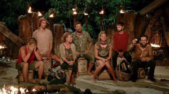 Tribal Council - Survivor 2017 S35 Episode 12