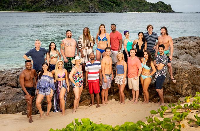 Survivor 2018 S37 cast