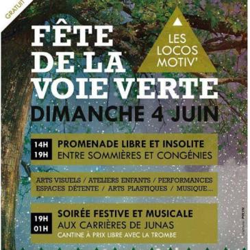 Festival de la voie verte: 4 juin 2016