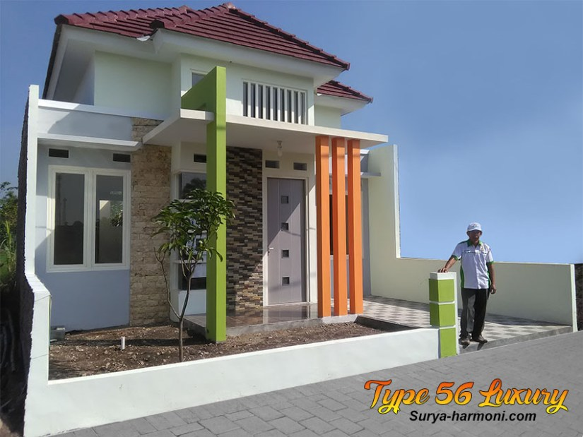 Type 56 Luxury Tampak Samping Kiri