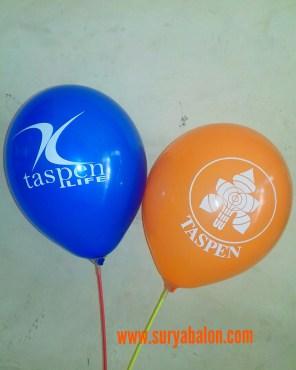 balon sablon taspen