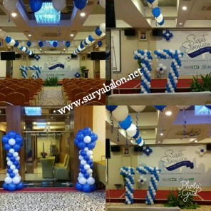 dekorasi balon sweet sevevteen