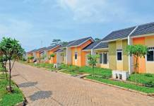 Ilustrasi rumah sederhana (sumber: housing estate)