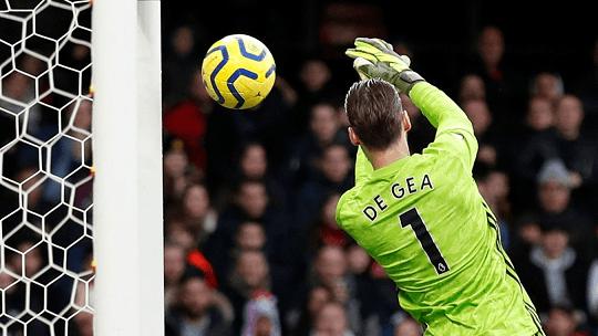 Blunder David De Gea mengakibatkan Manchester United tertinggal 0-1 dari Watford. (Foto: Premierleague.com)