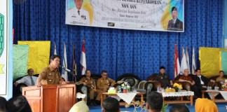 Plt Gubernur Kepulauan Riau saat di SMKN 1 Karimun, Selasa (28/1/2020).