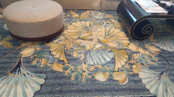 Exquisite carpets with ocean flora and fauna