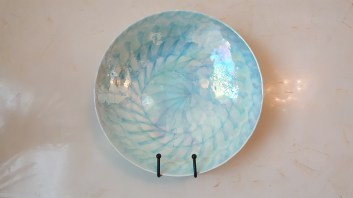 Loved this mother-of-pearl plate