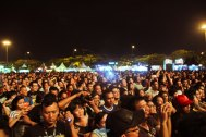 Crowd of Java Rocking Land