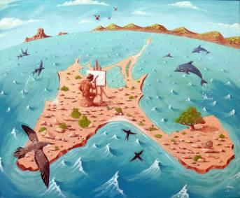 Pequeña isla