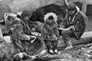 familia inuit