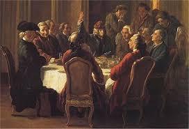 ideas filósofos ilustrados influencia en Declaración