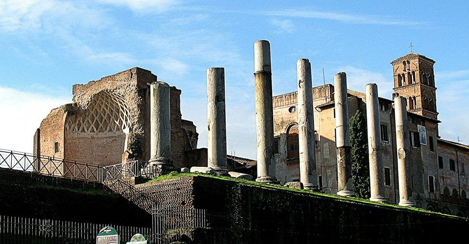 El templo de Venus y Roma