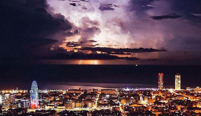 Luces de ciudad